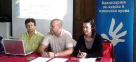 "27.6.2014, ljudskaprava.gov.rs – Round table on ""hate graffiti"" in Prijepolje"