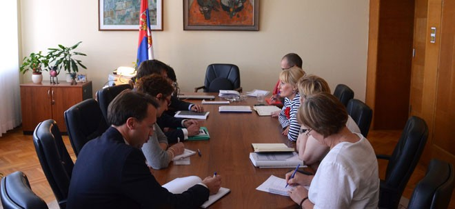 24.6.2014, ljudskaprava.gov.rs – Meeting with representative of the OSCE High commissioner for national minorities