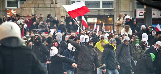 14.7.2014, fare network – Polish far-right groups stir up anti-Roma hatred in the shadow of Auschwitz
