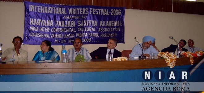 Bajram Haliti – PAPER PRESENTED BY BAJRAM HALITI AT THE INTERNATIONAL WRITERS FESTIVAL IN INDIA, 2006